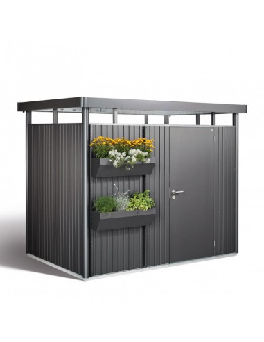Jardinera para caseta de jardín