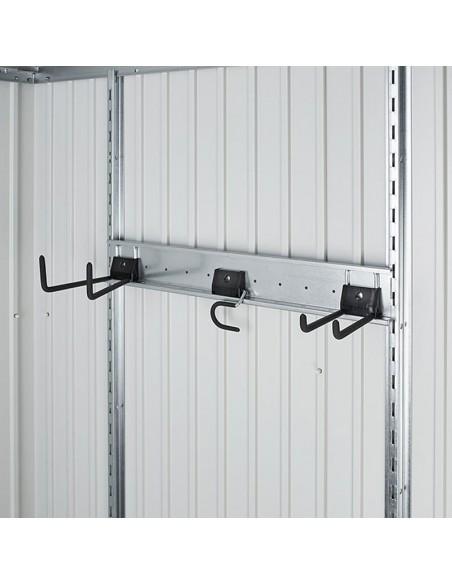 Ganchos para la pared de tu caseta o cobertizo