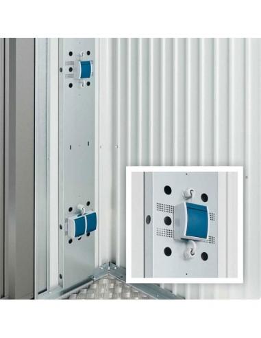 Panel eléctrico para casetas de Biohort