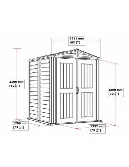 Caseta de PVC Yardmate II