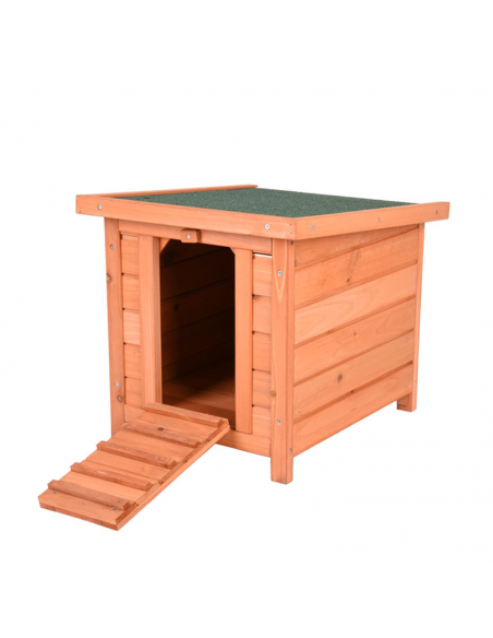 Caseta de madera para conejos Woody