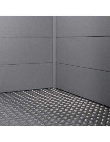 Panel y estructura metálica del suelo casetas NH