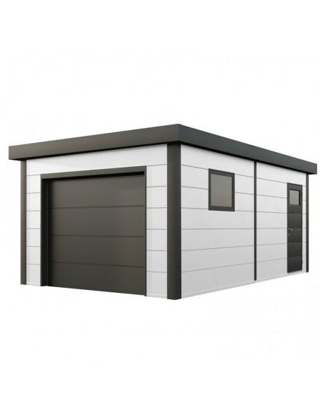 Garaje metálico NH1 de Novo Habitat