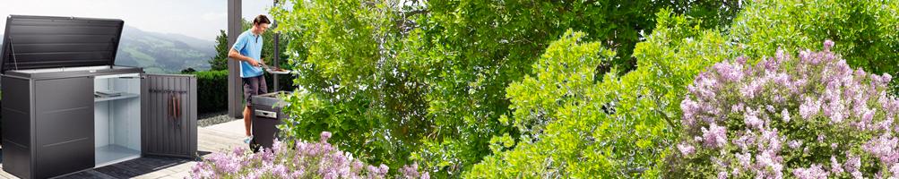 Cobertizos para jardín - Madera, acero y resina- Pepecasetas