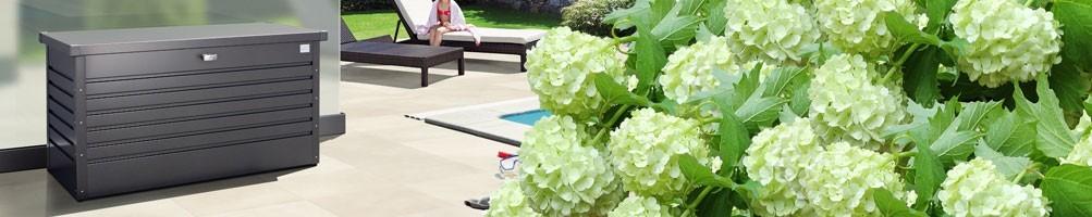 Accesorios de jardín -Arcones, baúles, mobiliario - Pepecasetas