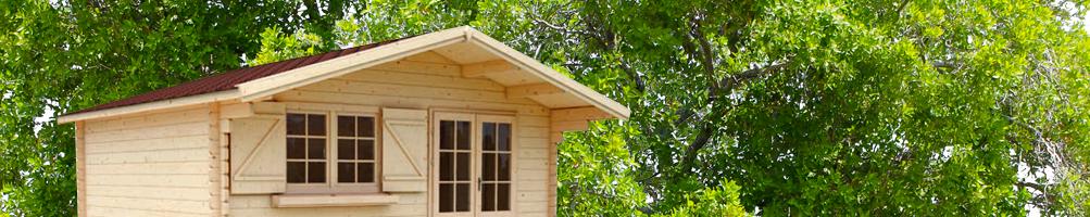 Casetas de madera para jardín, patio, azotea o terraza - Pepe Casetas